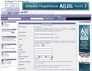cindylafouine.allmyblog.com screenshot