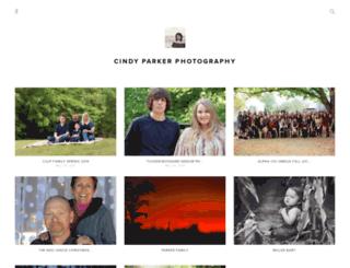 cindyparkerphotography.pixieset.com screenshot