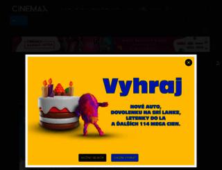 cine-max.sk screenshot