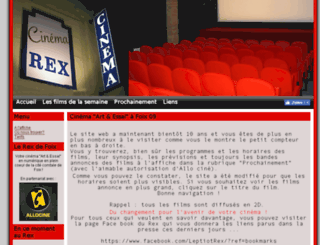 cine-rex.com screenshot