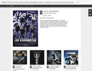 cine-tk.blogspot.mx screenshot