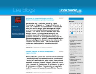 cine.blogs.lavoixdunord.fr screenshot