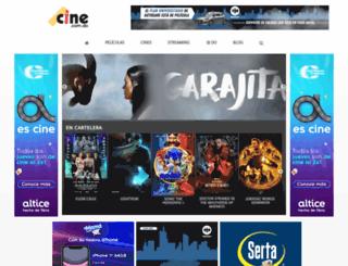 cine.com.do screenshot