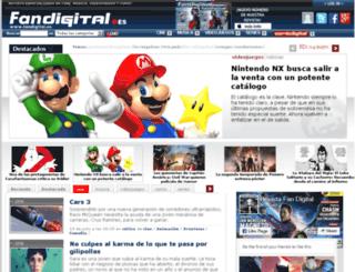 cine.fanzinedigital.com screenshot