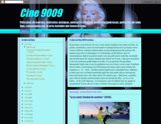 cine9009.blogspot.com screenshot