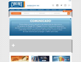 cineart.com.br screenshot