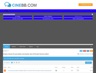 cinebb.com screenshot