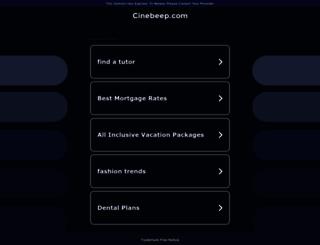 cinebeep.com screenshot