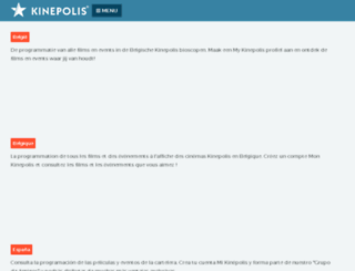 cinebelval.lu screenshot