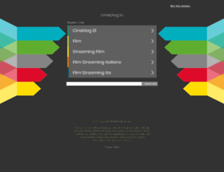 cineblog.tv screenshot