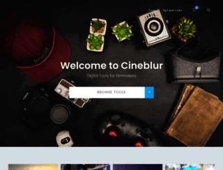 cineblur.com screenshot