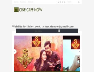 cinecafenow.com screenshot