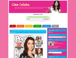 cinecelebs2.blogspot.com screenshot