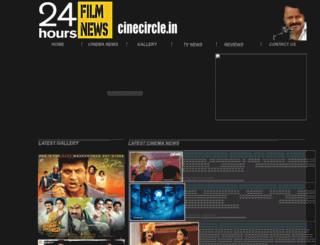 cinecircle.in screenshot