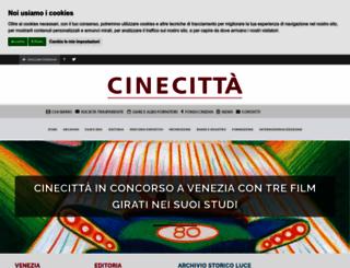 cinecitta.com screenshot