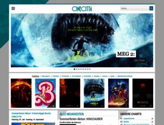 cinecitta.de screenshot