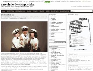cineclubedecompostela.blogaliza.org screenshot
