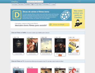 cinedica.com.br screenshot