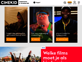 cinekid.nl screenshot