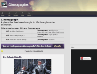 cinemagrapher.com screenshot