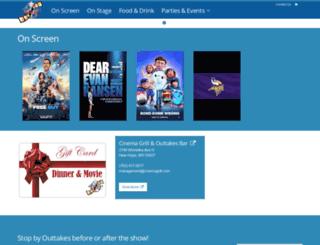 cinemagrill.com screenshot