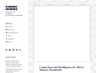 cinemaminima.com screenshot