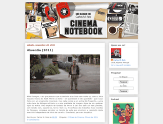 cinemanotebook.blogspot.com screenshot