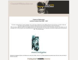 cinemaofmalayalam.net screenshot