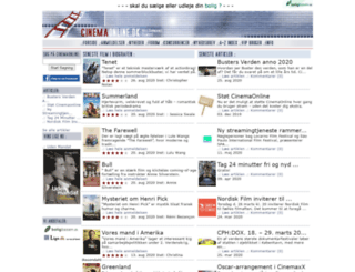 cinemaonline.dk screenshot