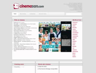 cinemasan.com screenshot