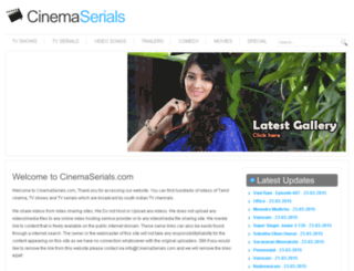cinemaserials.com screenshot
