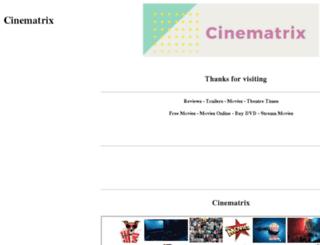 cinematrix.com.au screenshot