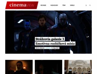 cinemaview.sk screenshot