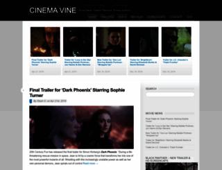 cinemavine.com screenshot