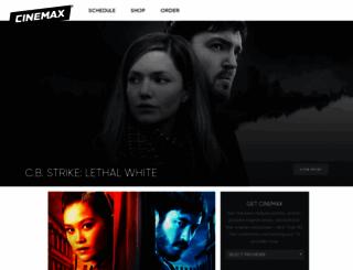 cinemax.com screenshot