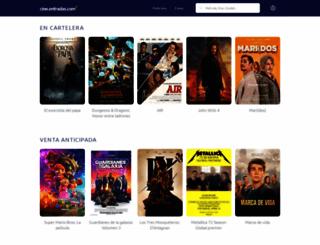 cinentradas.com screenshot