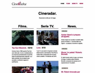 cineradar.it screenshot