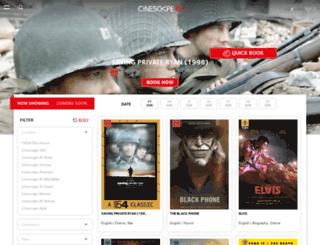 cinescape.com.kw screenshot