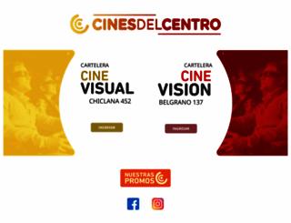 cinesdelcentrobb.com.ar screenshot