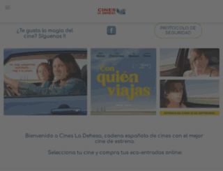 cinesladehesa.es screenshot
