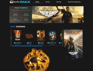 cinestar.com.pk screenshot