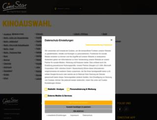 cinestar.de screenshot