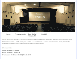 cineteatroexcelsior.com screenshot