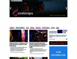 cineuropa.org screenshot