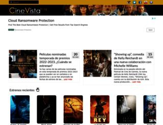 cinevistablog.com screenshot