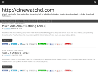 cinewatchd.com screenshot