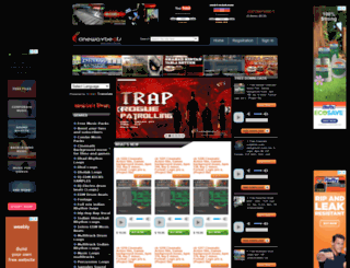 cinewavbeats.com screenshot