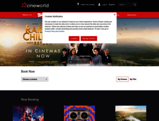cineworld.co.uk screenshot