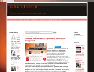 cineypunto.blogspot.mx screenshot