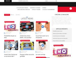 cinezime.fr screenshot